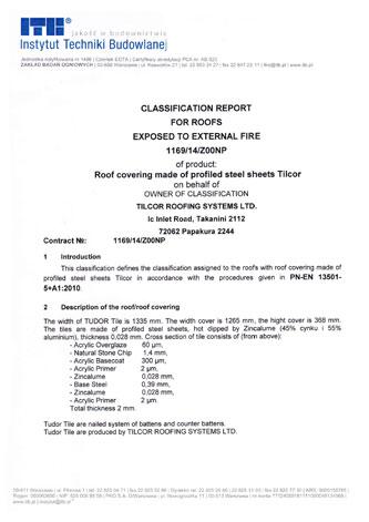 ITB Brandschutztest