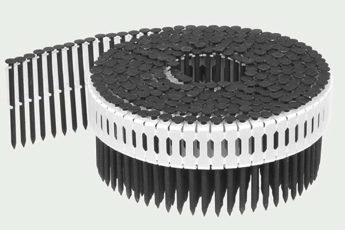 Dachplatten Nägel Paslode CNP65 schwarz