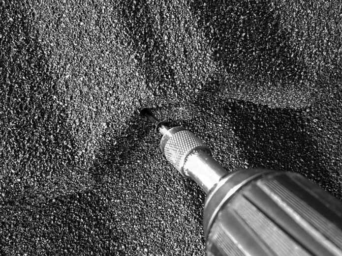 Scrail Nagelschrauben entfernen